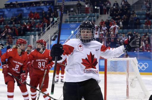 Pyeongchang Olympics Ice Hockey Women_568271
