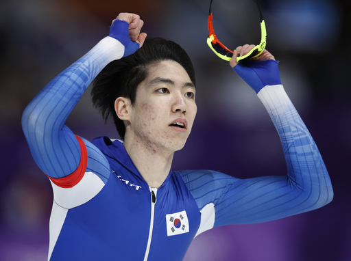 Pyeongchang Olympics Speed Skating Men_568229