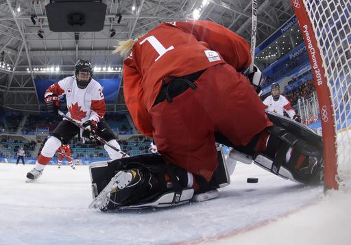 Pyeongchang Olympics Ice Hockey Women_568257
