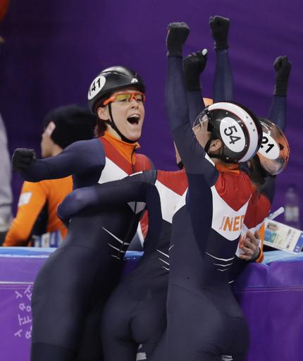 Pyeongchang Olympics Short Track Speed Skating Women_568867