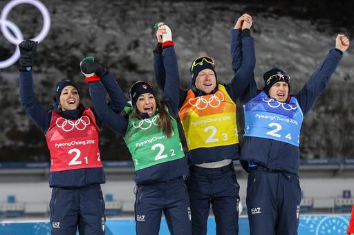 Pyeongchang Olympics Biathlon_568868