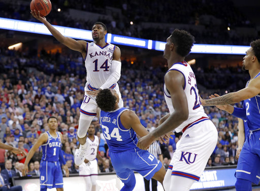 APTOPIX NCAA Duke Kansas Basketball_1522089213135