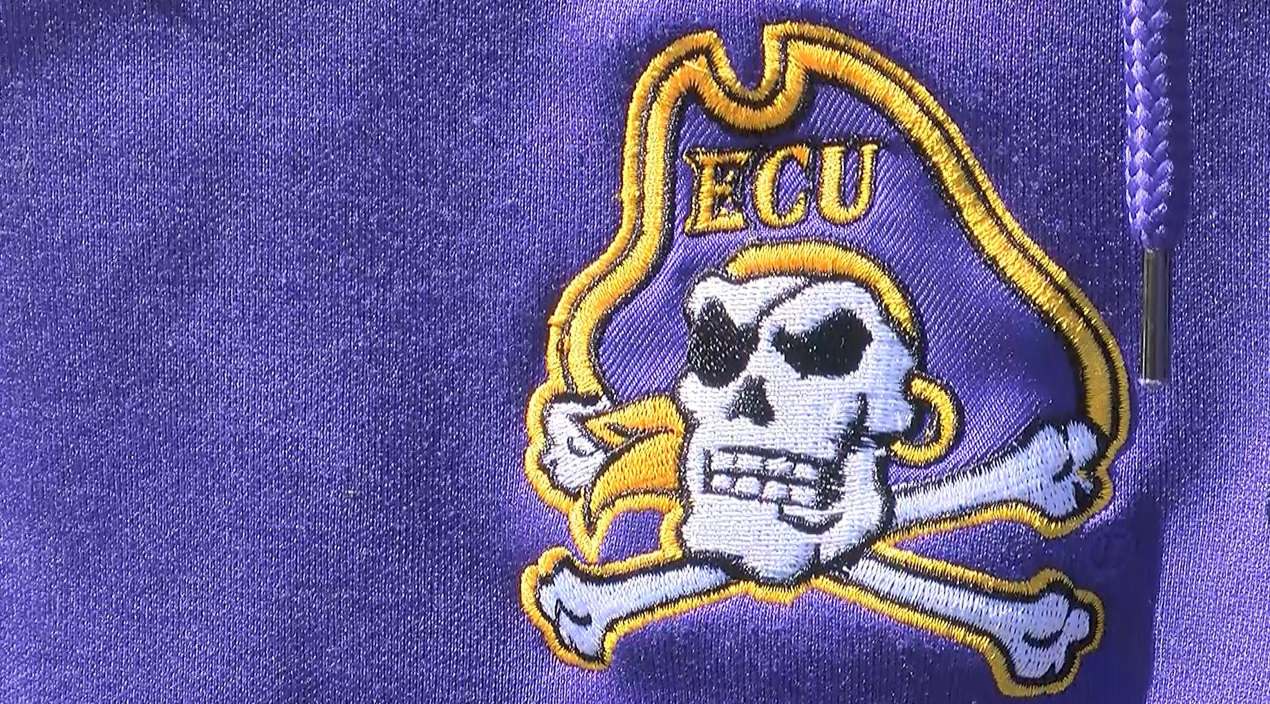 ecu logo on sweater_580223