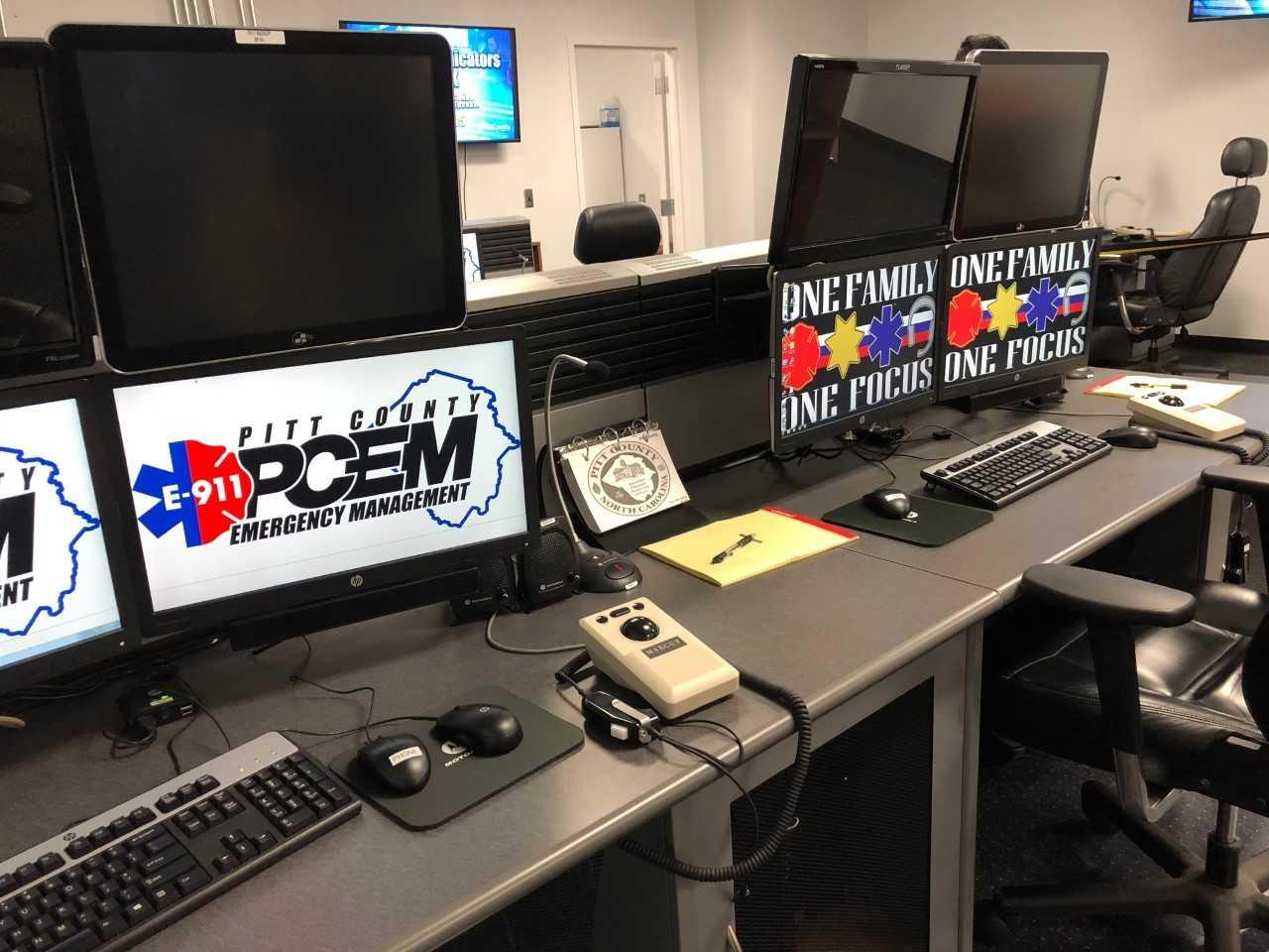 911 Center Equipment