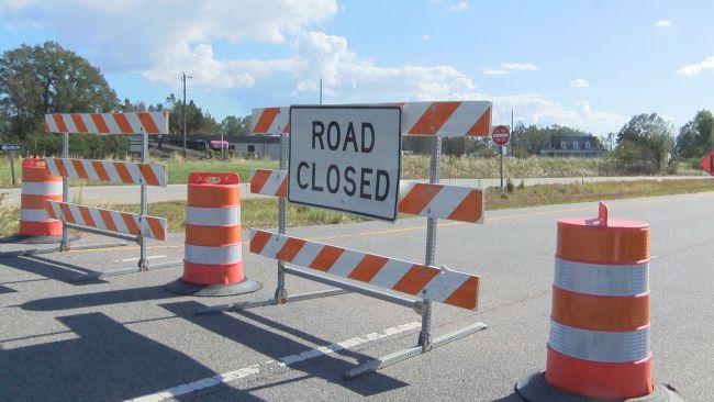 Road Closure Sign