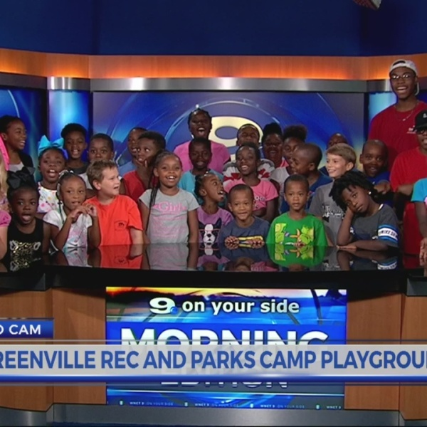 Greenville Rec and Parks Camp Playground