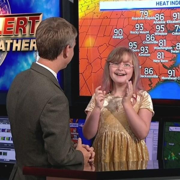 WNCT9 First Alert Weather Kids: Ashlyn and Ian Hart