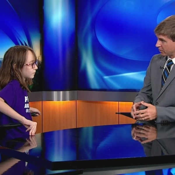 WNCT9 First Alert Weather Kids: Marjory Pearce