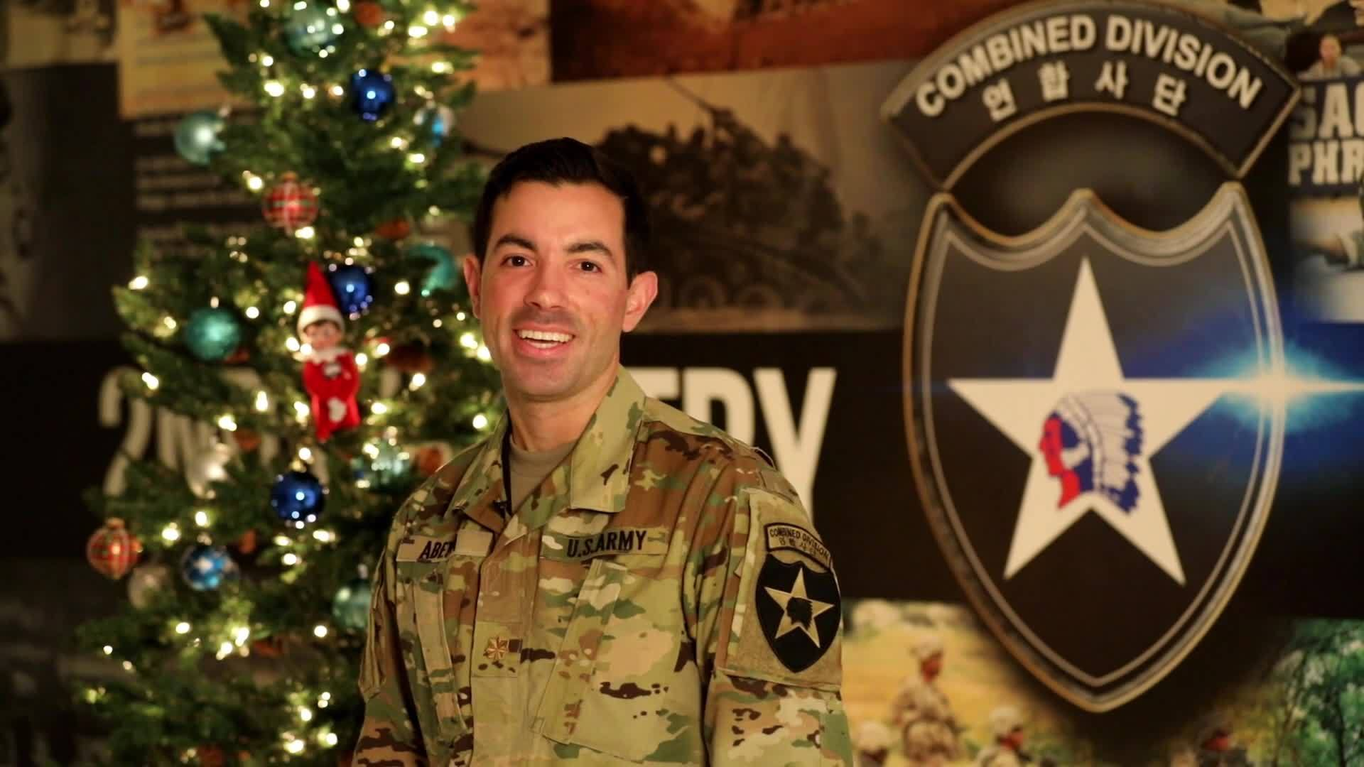 Maj. Adam Abeyta - Holiday Greeting
