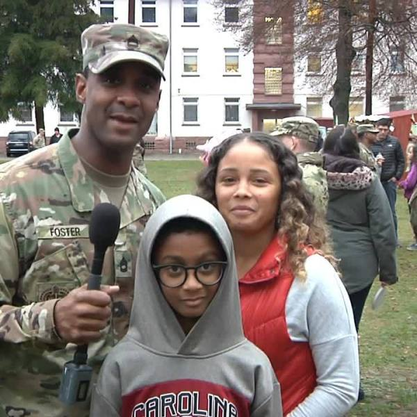 SFC William Foster - Holiday Greeting