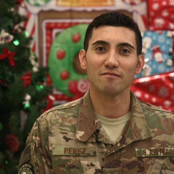 TECH SGT Marcus Perez - Holiday Greeting