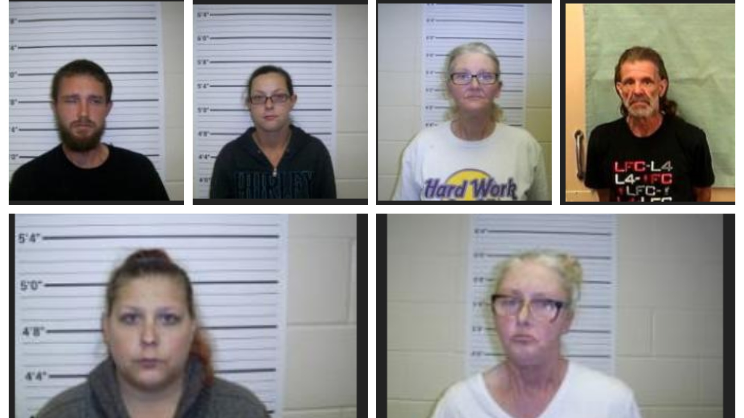6 arrested after multiple drug complaints in Reelsboro