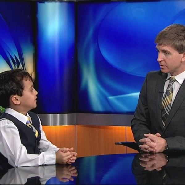 WNCT9 First Alert Weather Kids: Kevin Bullock