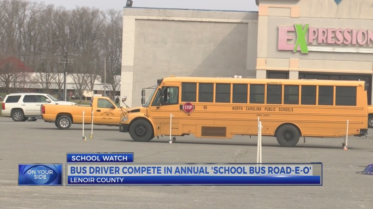 20 Lenoir County bus drivers compete in Road-E-O