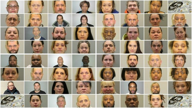 62 Arrested Welfare Fraud Mugshots
