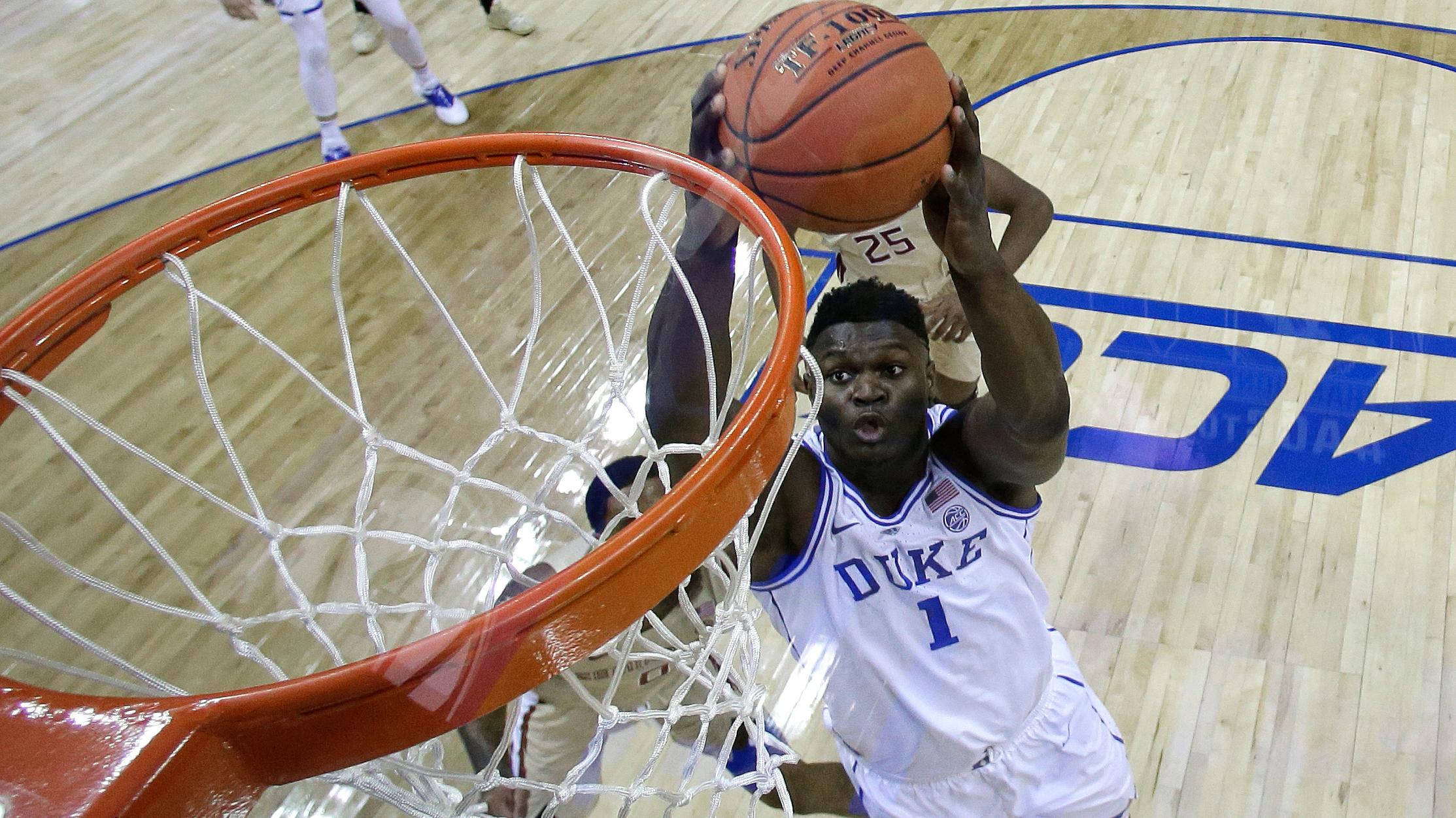 Zion Williamson Duke NCAA-846624087-846624087
