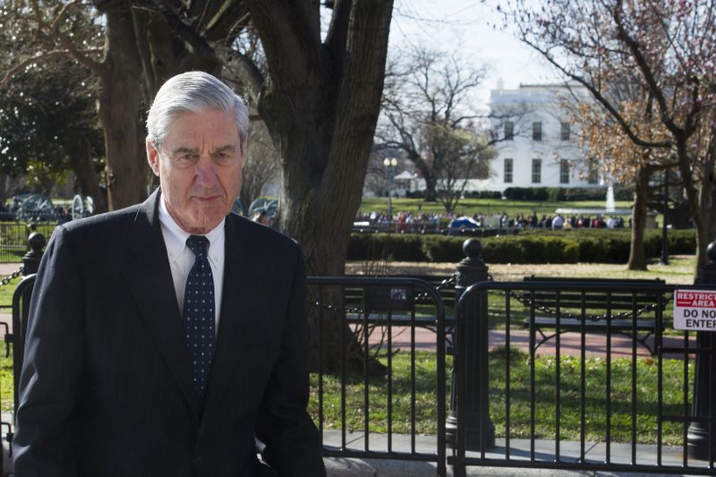Mueller Walks Near White House