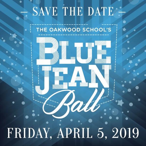 Oakwood School Blue Jean Fundraiser Logo