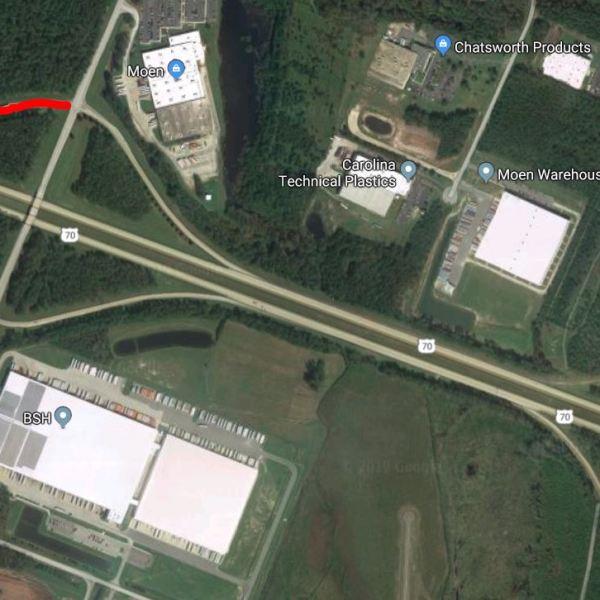 US 70 WB Ramp Closure Map New Bern_1553271588045.jpg.jpg