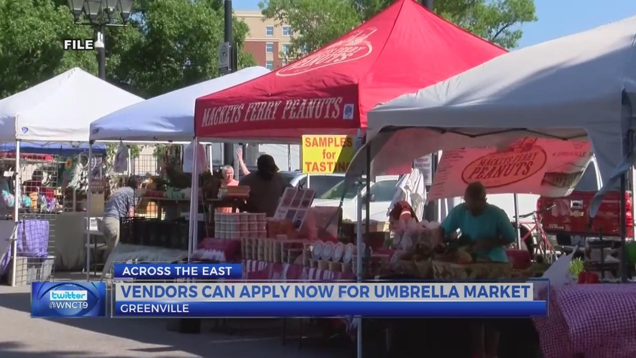 Uptown Greenville accepting vendor applications for Umbrella Market