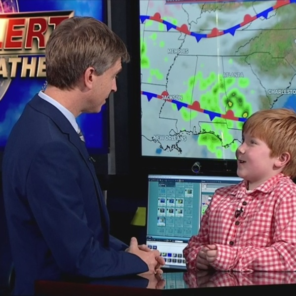WNCT9 First Alert Weather Kids: Jayden McKinney