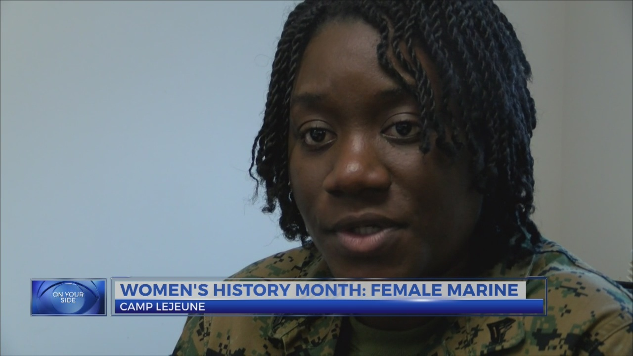Women's History: Female marine