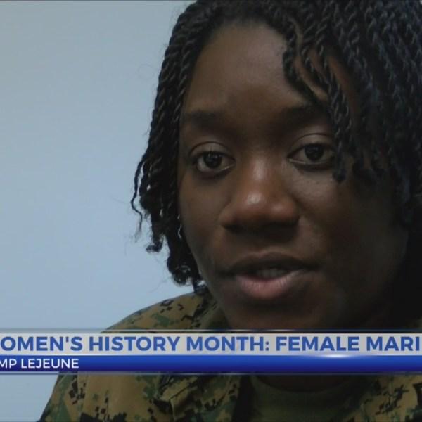 Women's History: Female marine
