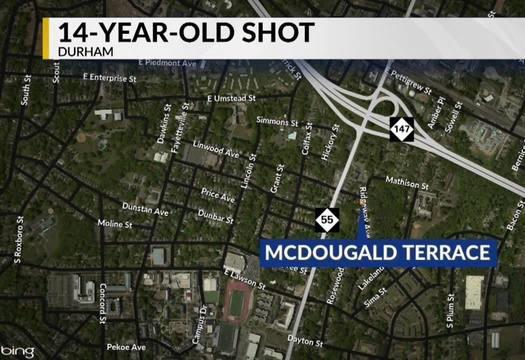 14 Year Old Shot In Durham