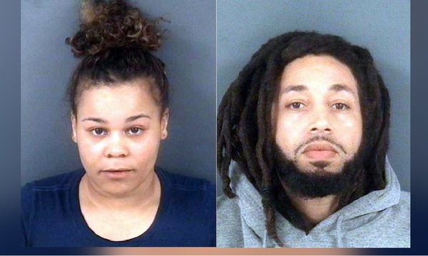 Alysha J. Smith and Sergio F. Weeks Mugshot