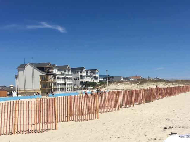 Atlantic Beach New Sand Fence