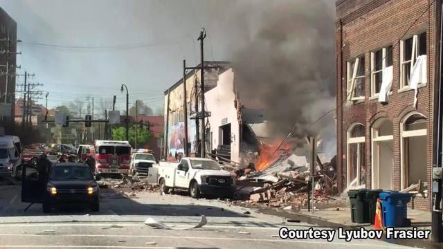 Durham Explosion 1