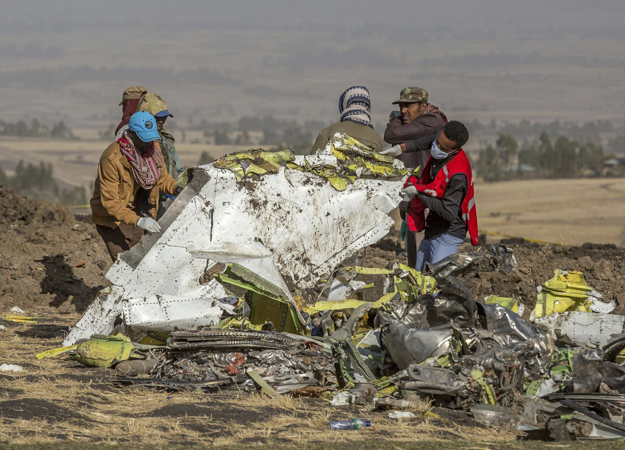 Ethiopian Airlines Plane Crash