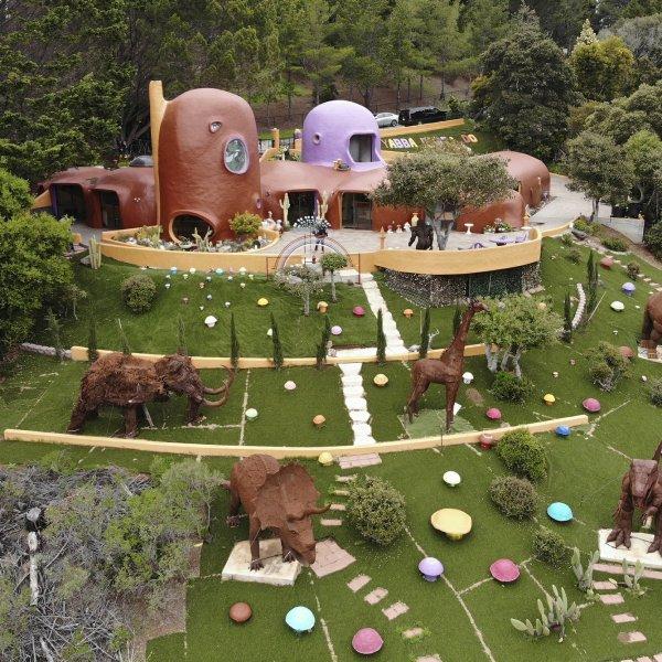 Flintstones House in California