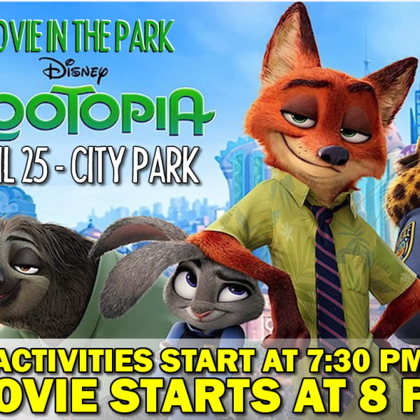 Havelock Movie In The Park April 25
