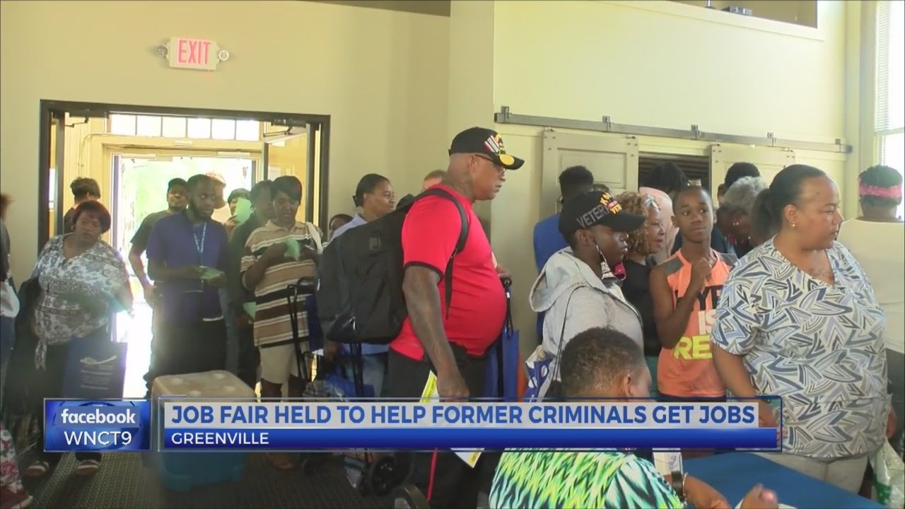 Job fair held to help former criminals get jobs