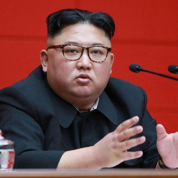 Kim Jong Un Attends Meeting April 10, 2019