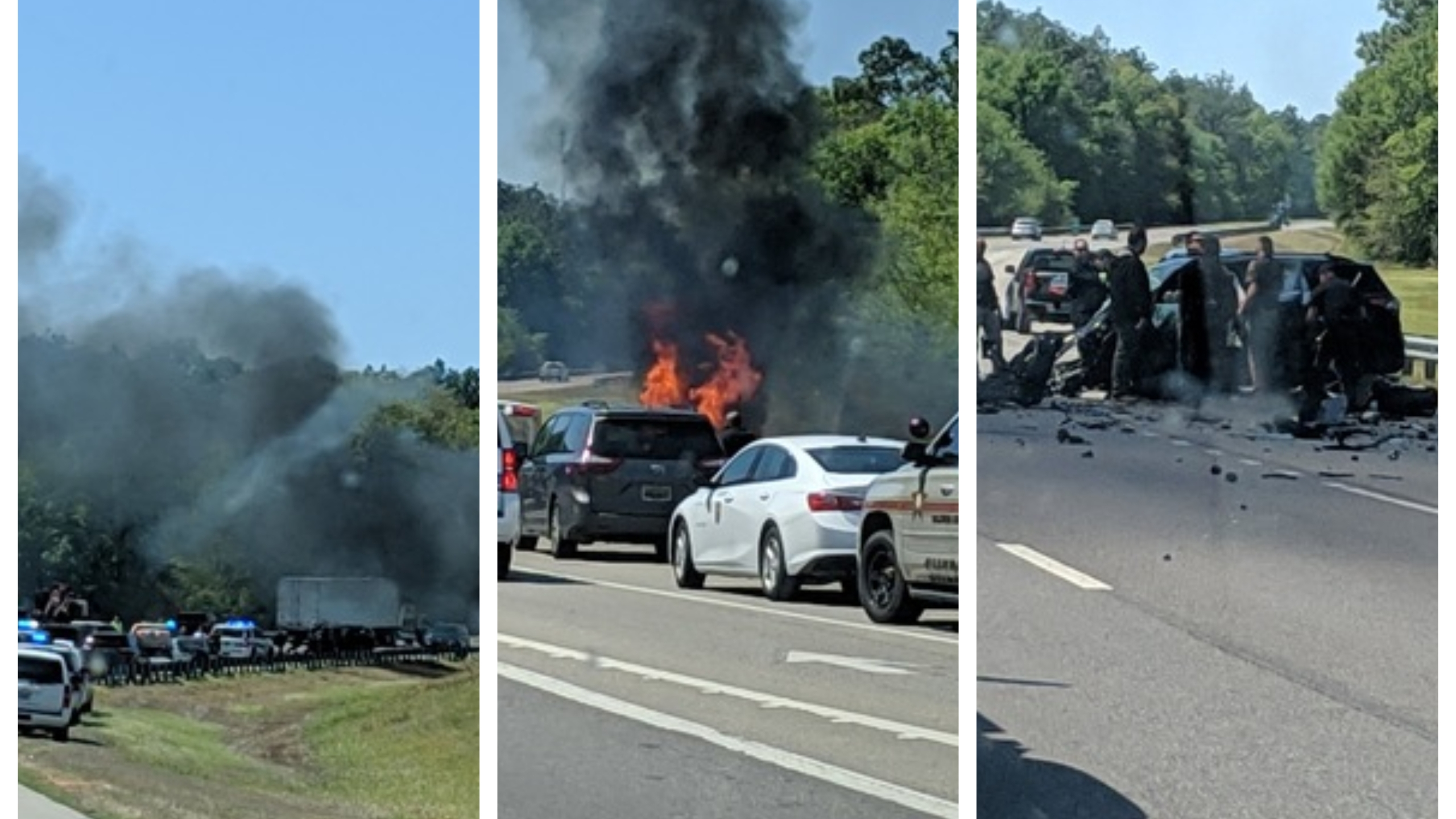 Mobile I10 Fire Crash