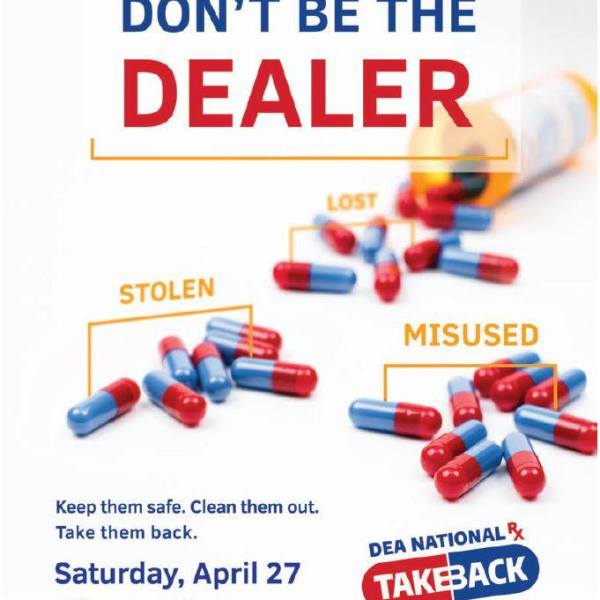 New Bern 2019 Drug Take Back Poster