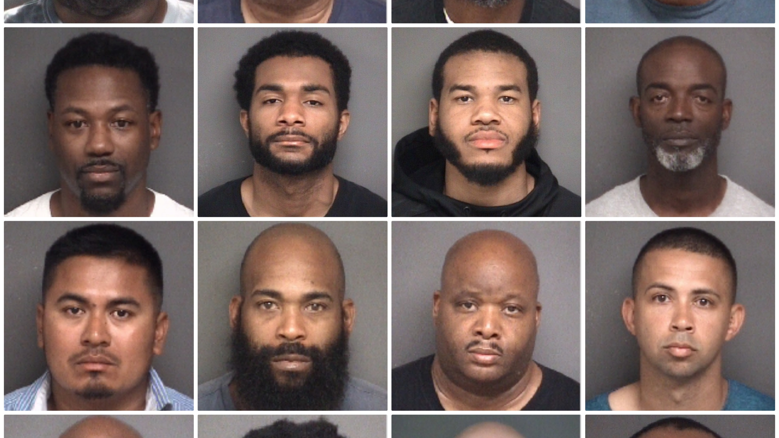 Pitt Co. Prostitution Suspects April 18, 2019