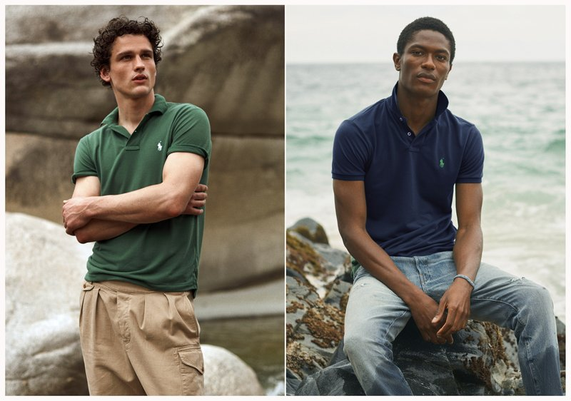 Polo Shirt Made of Recycled Bottles