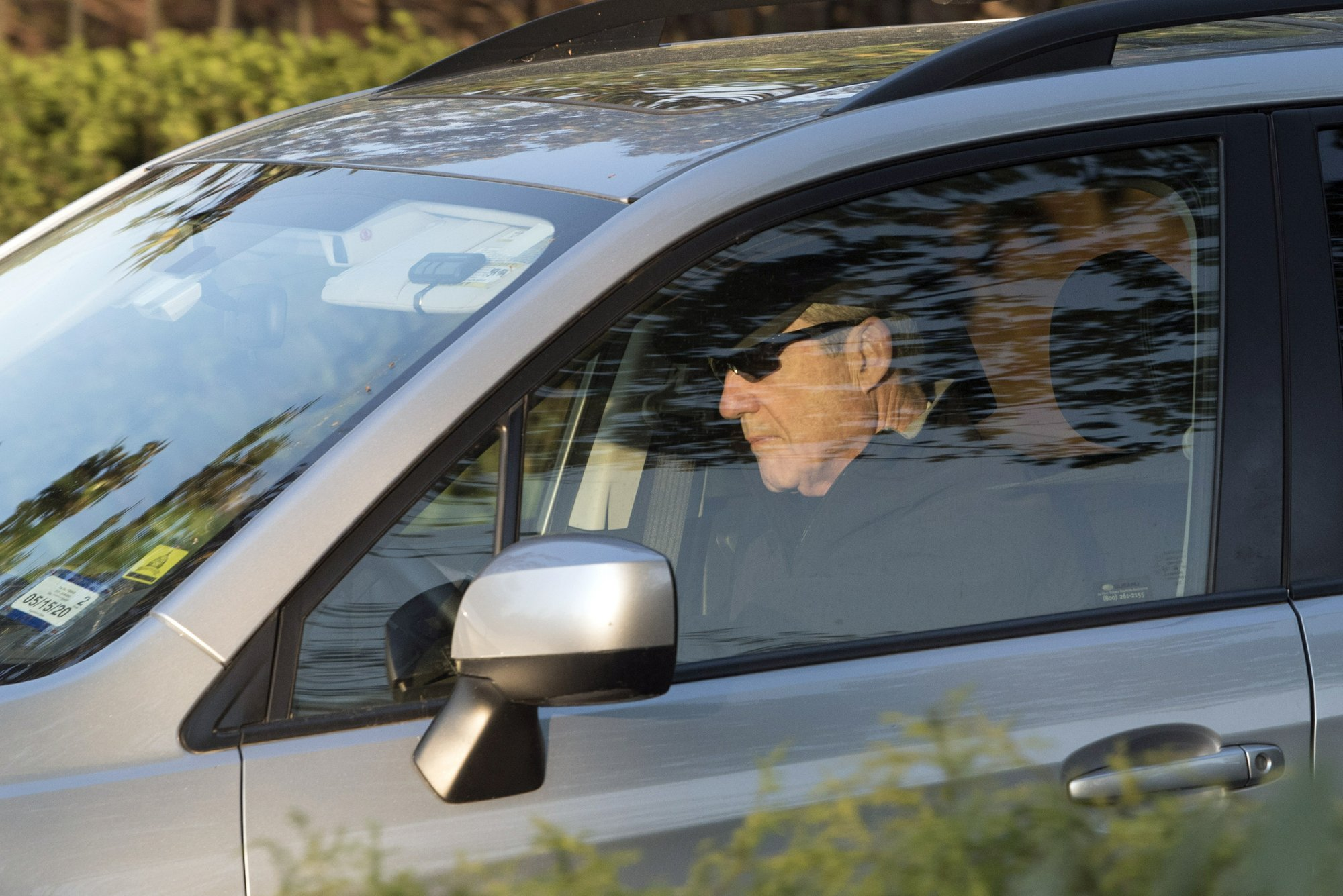 Robert Mueller Leaves Home April 2019