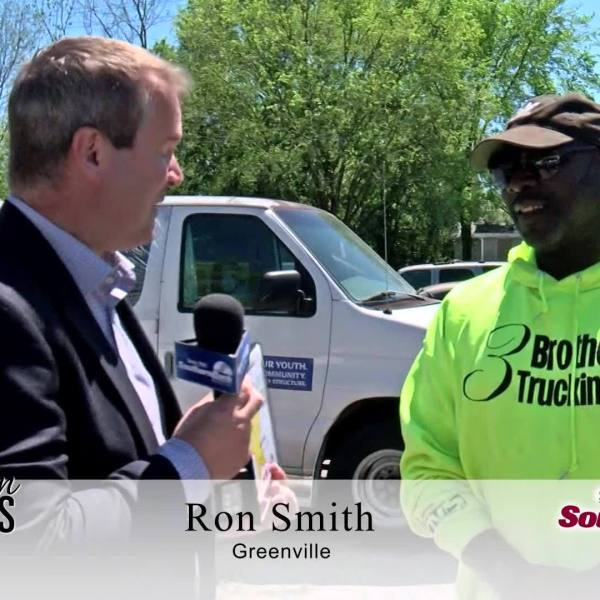 Ron Smith of Greenville is a Southern Star