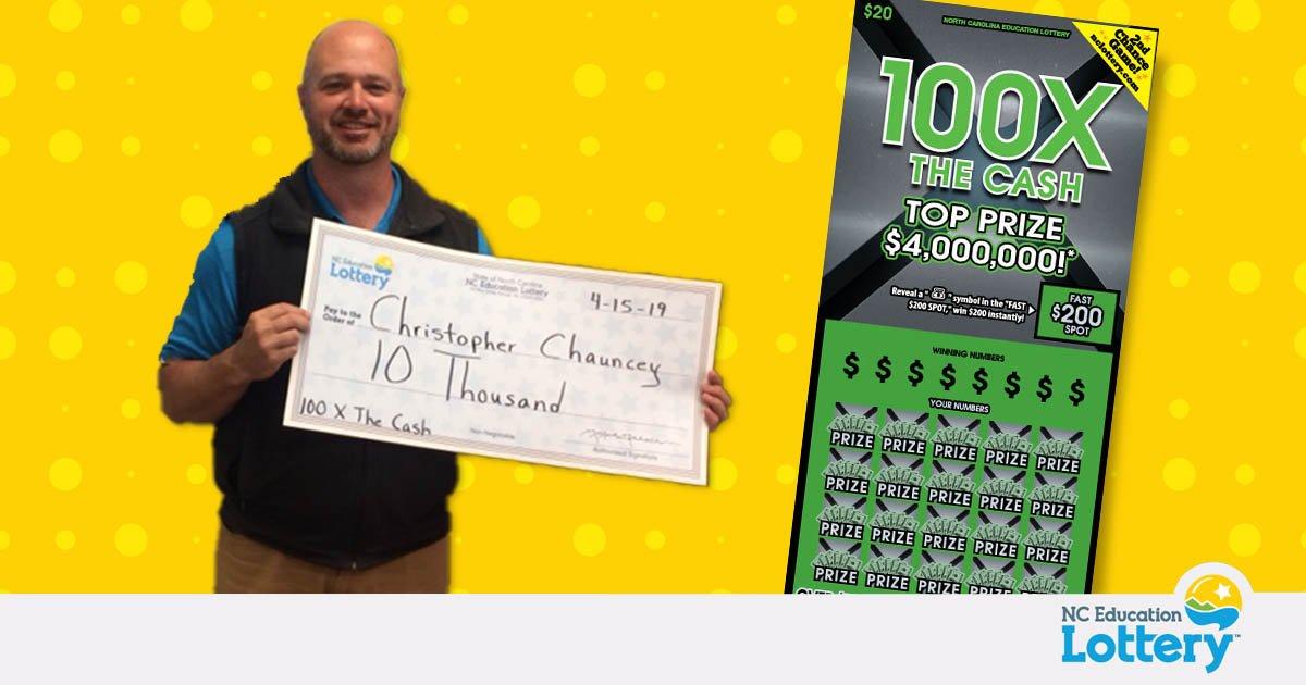 Winterville NC Lottery Winner