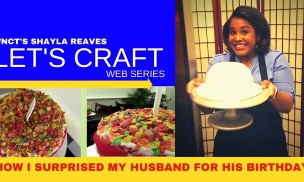 LET'S CRAFT: Shawn's birthday cake surprise