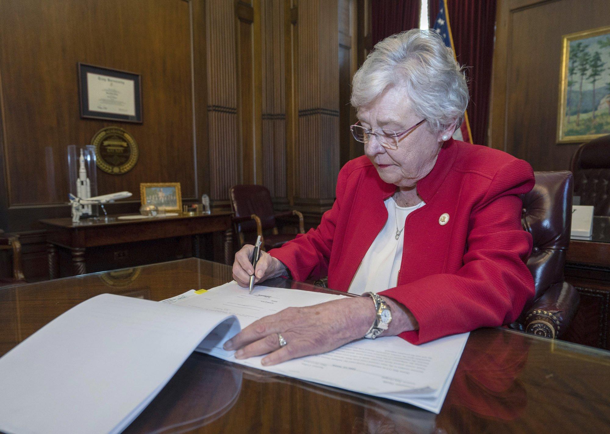 AL Gov. Signs Abortion Bill