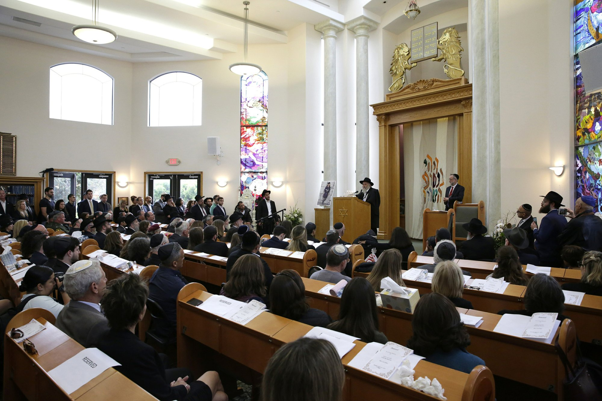 Chabad of Poway Memorial Service