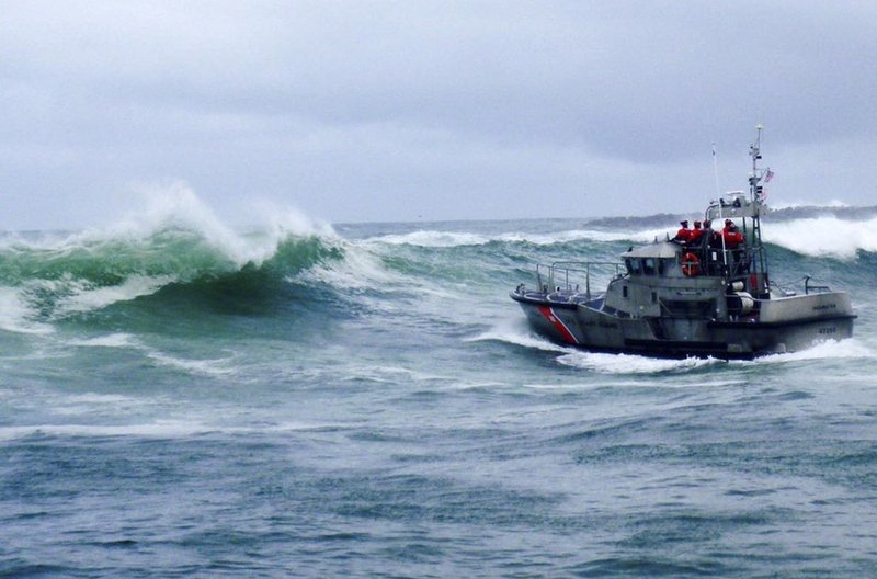 Coast Guard Responds to Sinking Ship in Oregon