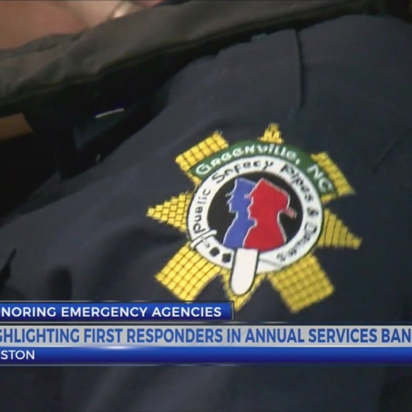 Highlighting first responders in Annual Services Banquet