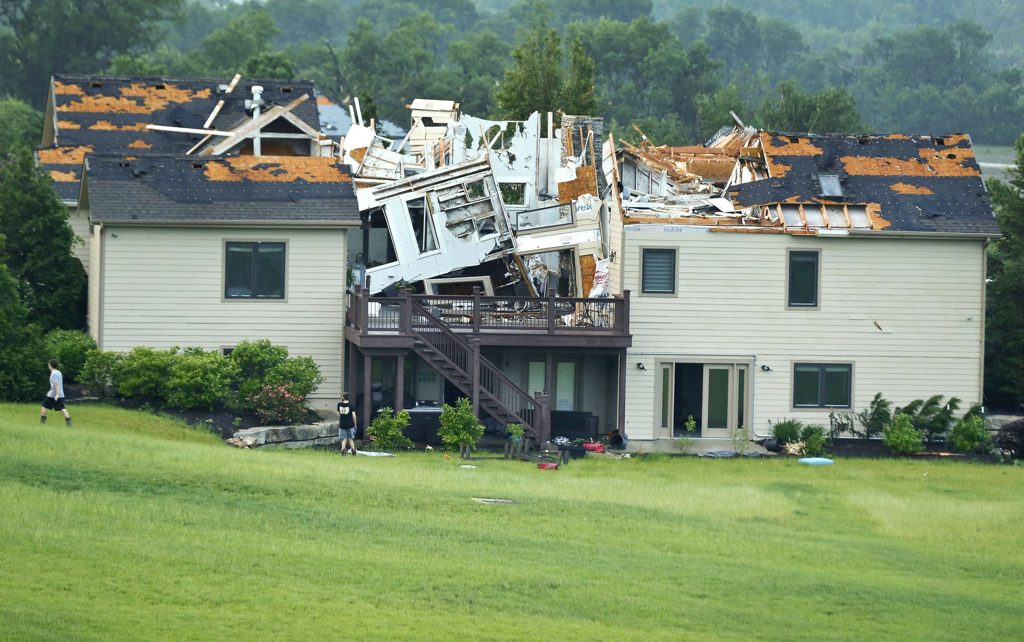 Kansas Tornado Destroys Home May 2019