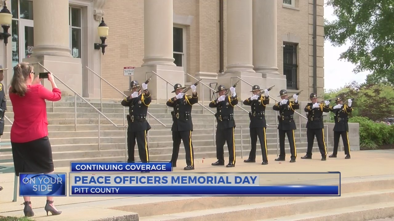 Law enforcement remembers the fallen on Peace Officers Memorial Day